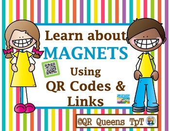 MAGNETS using QR CODES and LINKS