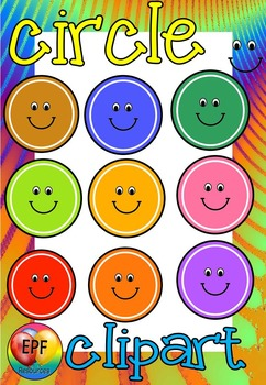MAKE YOUR OWN CIRCLE CLIP ART ( 50% off for 24 hours)