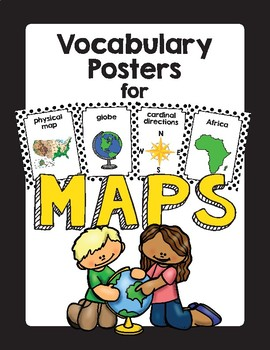 MAP Skills Vocabulary Picture Cards
