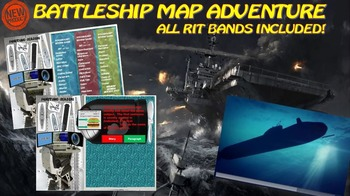 MAP TEST READING VOCABULARY GAME - Battleship Game Preview