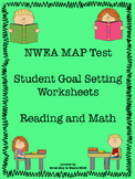 MAP Test Goal Setting Worksheet Winter to Spring