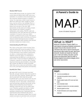 MAP Testing Information