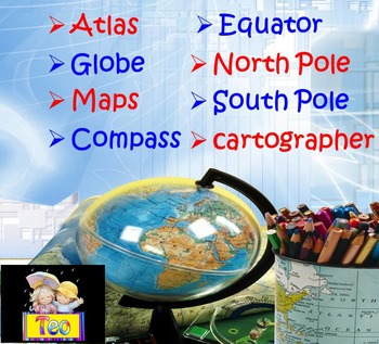 Maps and Globes - Geography - Interactive PowerPoint Presentation
