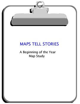 MAPS TELL STORIES - A Jumpstart Geography Lesson