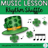March Music Class Chant, Dance and Game with Rhythm Activi