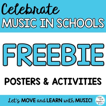MIOSM: March is Music in Our Schools Month Posters and Wri