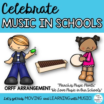 """MIOSM: """"MARCH IS MUSIC IN OUR SCHOOLS MONTH"""" ORFF SONG"""