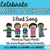 "FREEBIE MIOSM: ""March is Music in Our Schools Month"" SSA ACAPELLA"