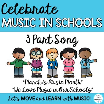 """Song for MIOSM: """"March is Music in Our Schools Month"""" for"""
