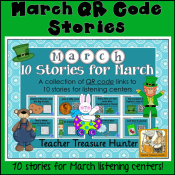 MARCH QR Code stories - 10 stories for March ~centers read