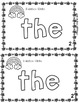 MARCH  Sight Word Mini Books for Literacy Centers