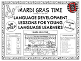 MARDI GRAS TIME Language Development Lessons for Young Lan
