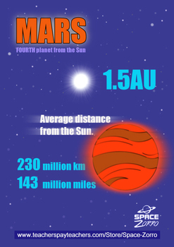 MARS POSTER ( distance )