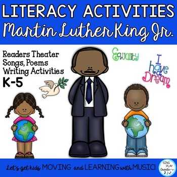 MARTIN LUTHER KING, JR. *SONGS *POEMS*READERS THEATER*WRIT