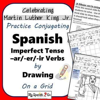 MARTIN LUTHER KING JR.  SPANISH IMPERFECT TENSE -AR/-ER/-I