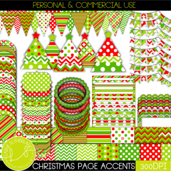 *MASSIVE CHRISTMAS PAGE ACCENT BUNDLE - 101 accents*