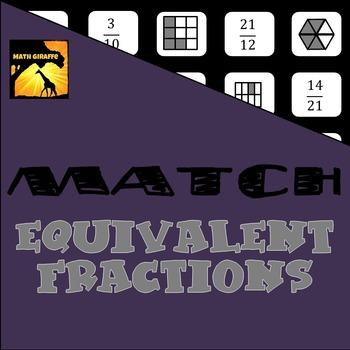 MATCH - Equivalent Fractions Puzzle