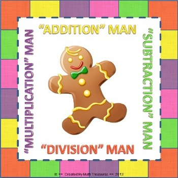 """MATH"" MAN BUNDLE. Addition, Subtraction, Multiplication,"