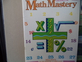 Math Mastery ISBN 1-55863-243-3