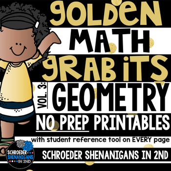 MATH NO PREP PRINTABLES for GEOMETRY
