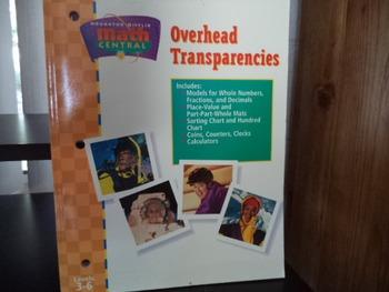 MATH  OVERHEAD TRANSPARENCIES   ISBN 0-395-86248-5