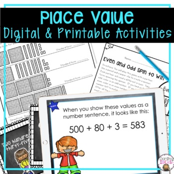 MATH PLACE VALUE 4 week complete UNIT CCSS LESSON PLANS, P