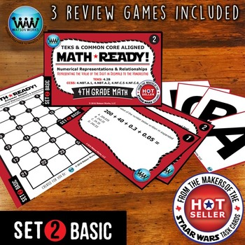 MATH READY 4th Grade: Represent Value of Digit in Decimals