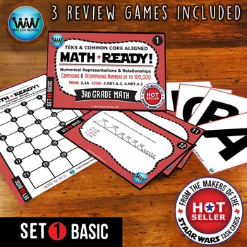 MATH READY Task Cards: Composing & Decomposing Numbers to