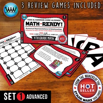 MATH READY Task Cards - Representing Value of Digit to 1 B