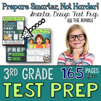 Math Test Prep: 3rd Grade Bundle