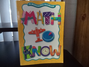 MATH TO KNOW     ISBN 0-669-47153-4