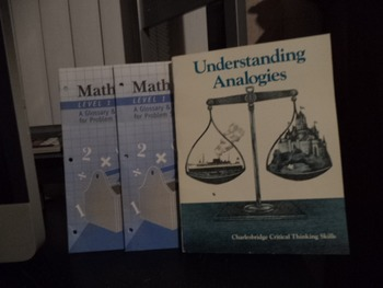 MATH TOOLS    UNDERSTANDING ANALOGIES       (SET OF 3)