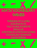 MATH VOCABULARY GAMES