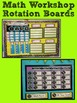MATH WORKSHOP ROTATION BOARD {PRINTABLES & EDITABLE BOARD}