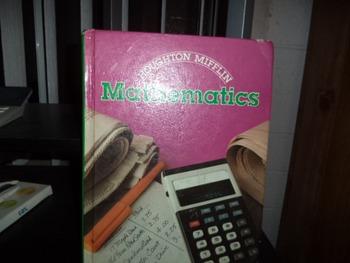 MATHEMATICS  HOUGHTON MIFFLIN