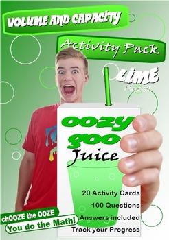 MATHEMATICS: Volume & Capacity; OOzy Goo Juice Sneak Peek FREEBIE