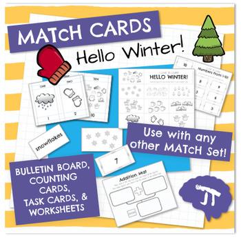MATcH CARDS Hello Winter