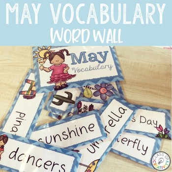 MAY Vocabulary Words