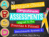 M/C Comprehension Assessments for F&P BAS Kit 2 Books