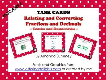 MCC.4.NF.6 - Relate & Convert Fractions & Decimals (10ths