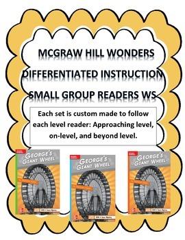 MCGRAW HILL WONDERS Unit 1, Week 4 Gr. 4 Small Group Reade