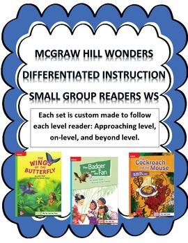 MCGRAW HILL WONDERS Unit 2, Week 1 Gr. 4 Small Group Reade
