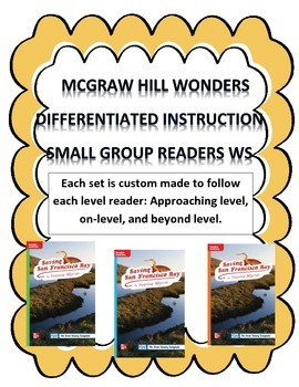 MCGRAW HILL WONDERS Unit 2, Week 3 Gr. 4 Small Group Reade