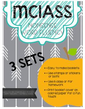 MCLASS nonsense word fluency booklet