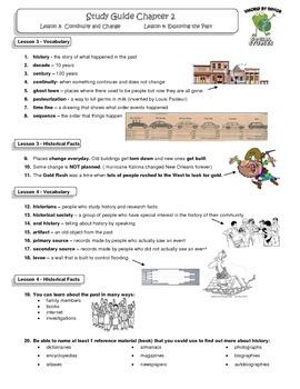 MCSB –Harcourt 3rd Grade Louisiana S. Studies: Ch. 2 Lesso