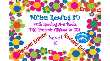 MClass Reading 3 D with Reading A-Z Level K, CCS and TRC aligned