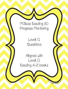 mClass Reading 3D Progress Monitoring Questions Level G wi