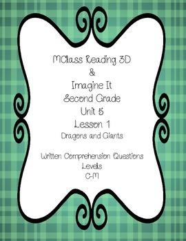mClass TRC Written Comprehension using Imagine It Dragons