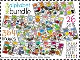 MEGA Alphabet Bundle A-M {Graphics for Commercial Use}