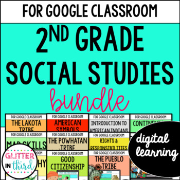MEGA BUNDLE Second-Grade Social Studies for Google Drive &